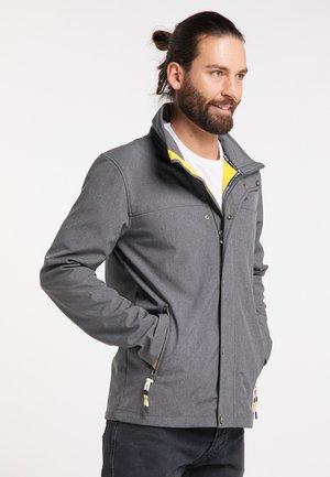 Outdoor jacket - anthracite melange