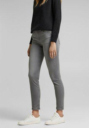 Slim fit jeans - grey medium washed