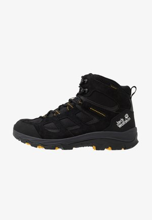 VOJO 3 TEXAPORE MID - Obuwie hikingowe - black/burly yellow
