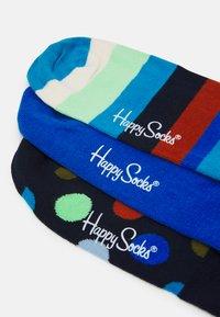 Happy Socks - STRIPE NO SHOW SOCK UNISEX 3 PACK - Socks - multi - 1