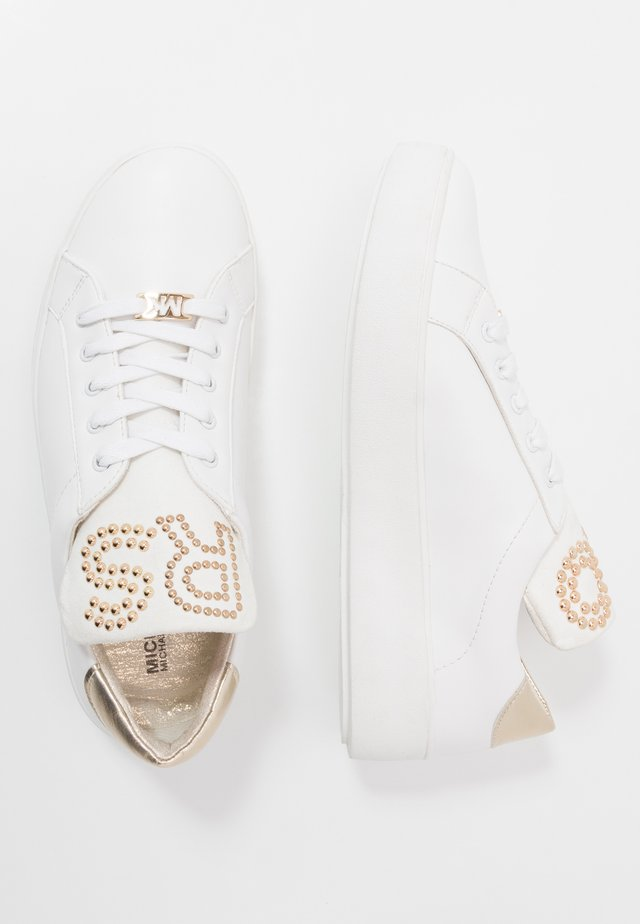 MAVEN DOTTI - Trainers - white/gold