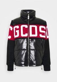 GCDS - LOGO MIX PUFFER - Winter jacket - black - 6