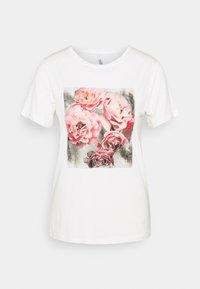 Soyaconcept - MARICA - Print T-shirt - offwhite - 0