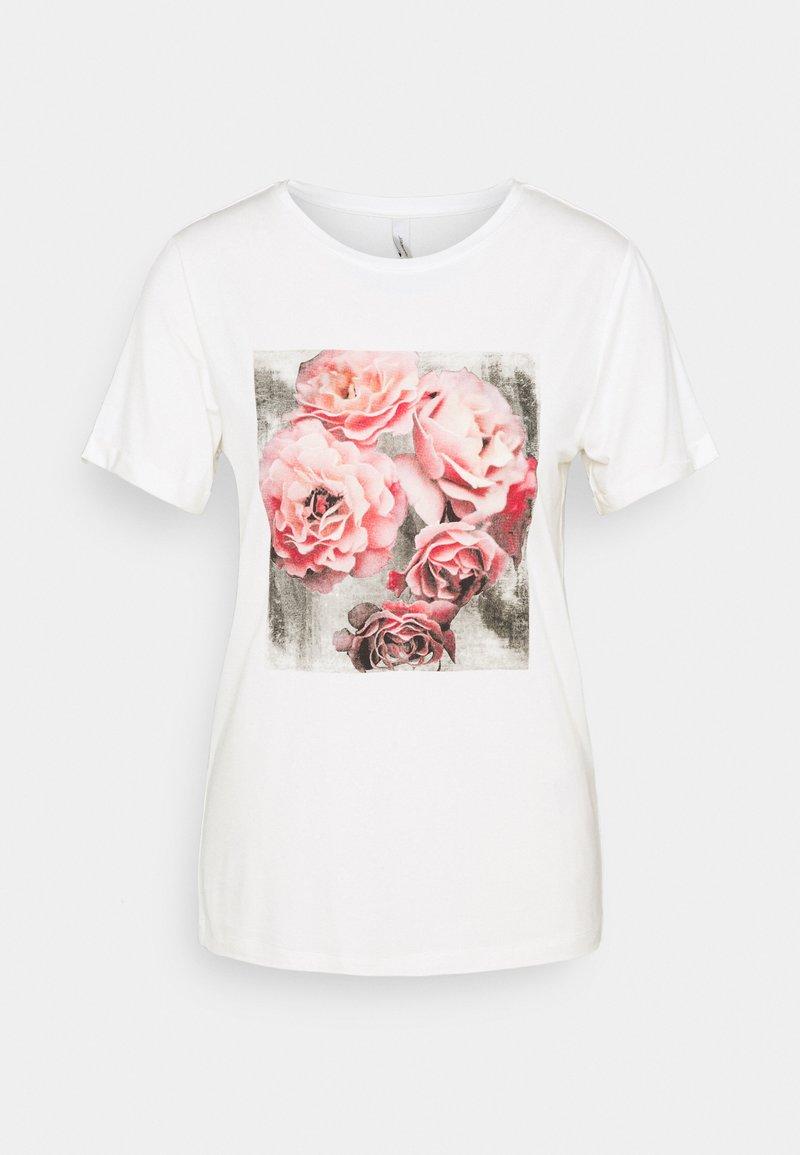 Soyaconcept - MARICA - Print T-shirt - offwhite