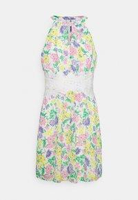 VIMILINA FLOWER DRESS - Cocktail dress / Party dress - snow white/mira