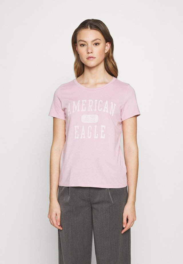 BRANDED CLASSIC TEES - Print T-shirt - classic lilac