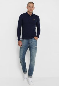 Lyle & Scott - Piké - navy - 1