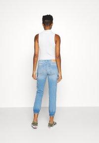 ONLY - ONLMISSOURI LIFE - Straight leg jeans - light blue denim - 2