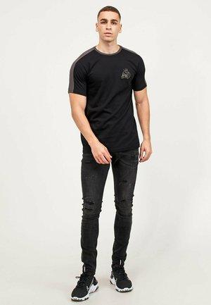 WEXFORD 2 PACK - T-shirt med print - white/black