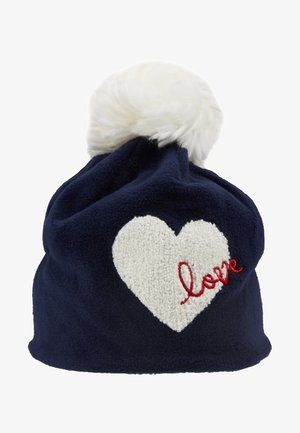 GIRL LOVE HAT - Muts - navy uniform