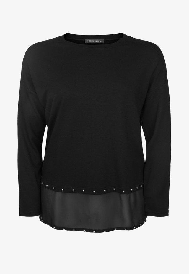 MIT NIETEN - Sweatshirt - black