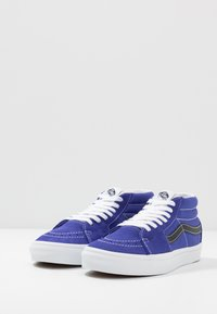 Vans - SK8 MID UNISEX - High-top trainers - royal blue/true white - 2