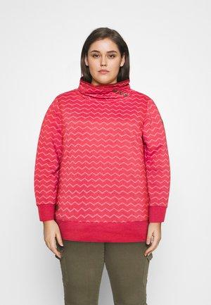 CHEVRON - Sweatshirt - red
