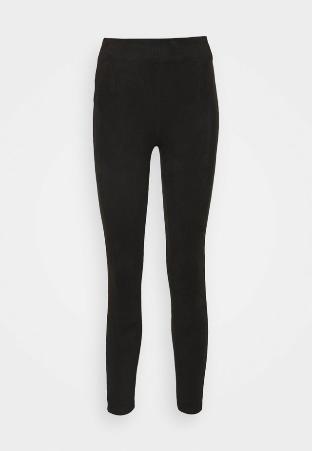 Trousers - onyx black
