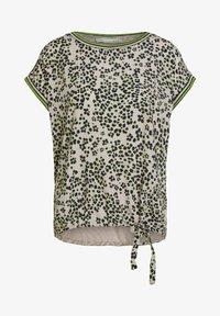 Oui - IM ANGESAGTEM  - Print T-shirt - light grey green - 4