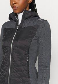 CMP - WOMAN JACKET FIX HOOD - Outdoor jacket - nero - 5