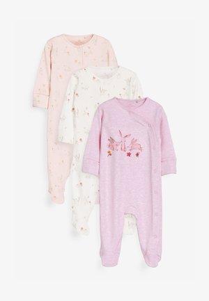 3 PACK FLORAL BUNNY - Pyjamas - pink