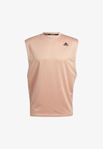 YOGA MUSCLE TEE - Top - ambient blush