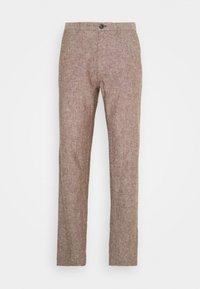 Springfield - PANT TEXTURAS - Kalhoty - dark brown - 3