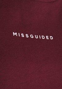 Missguided Plus - BASIC - Sweatshirt - wine - 2