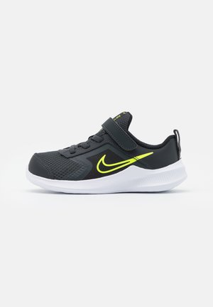 DOWNSHIFTER 11  - Neutral running shoes - dark smoke grey/volt/black/white