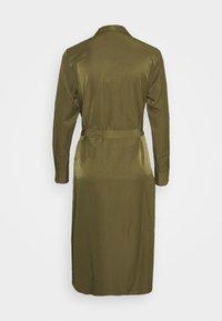 Object - OBJEILEEN DRESS - Blusenkleid - burnt olive - 1