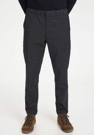 Cargo trousers - medium grey melange