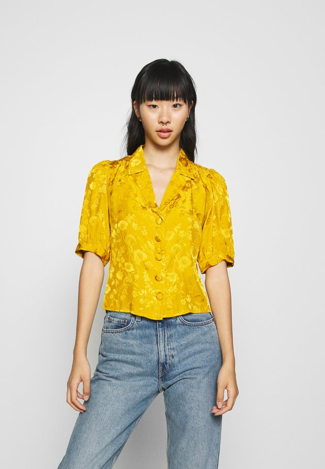 GABBY - Overhemdblouse - yellow