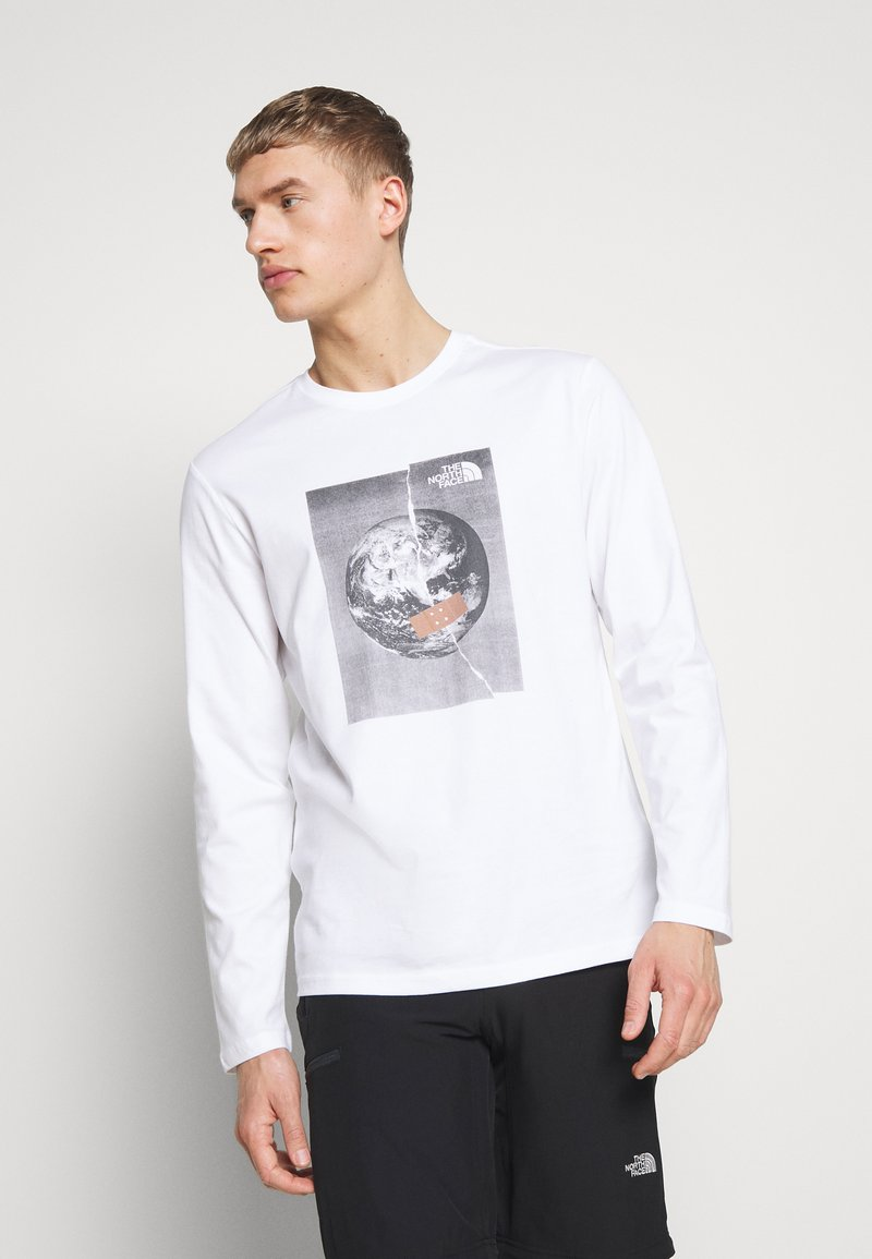 The North Face - MENS GRAPHIC TEE - Langarmshirt - white