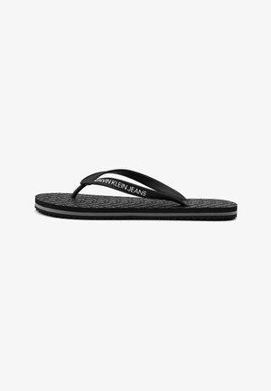 ZEHENTRENNER - Slippers - schwarz