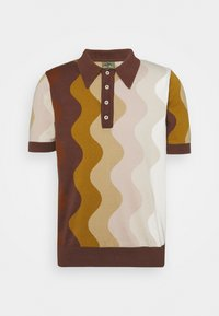 JXDED MAN X CURLYFRYSFEED  - Polo shirt - brown