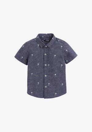 PALM TREE PRINT - Shirt - blue