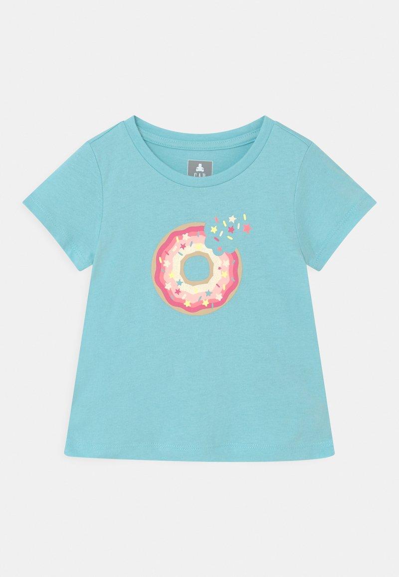 GAP - TODDLER GIRL - Camiseta estampada - ice water blue