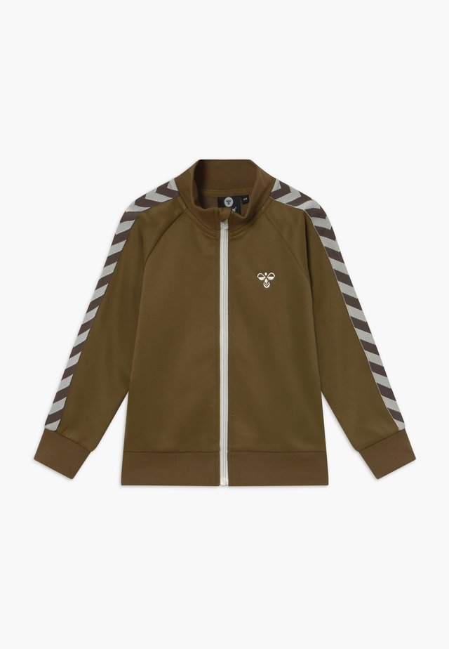 HMLKICK - Training jacket - military olive
