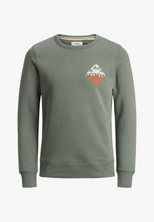 KLASSISCHES - Sweater - gunmetal