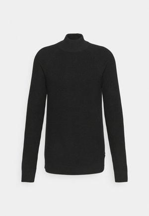 SLHIRVEN HIGH NECK - Jumper - black