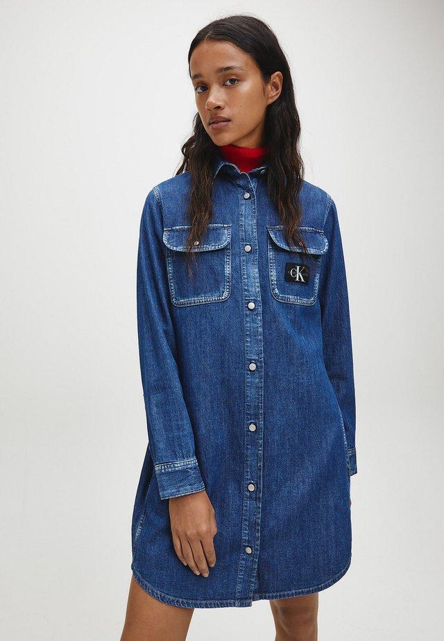 Denim dress -  icn mid blue