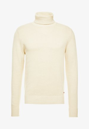 JORCLAY ROLL NECK - Strickpullover - silver birch