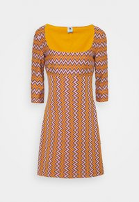 M Missoni - Shift dress - pumpkin/giallo/blood/candy - 3