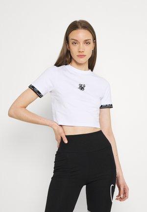 TECH TEE - Print T-shirt - white