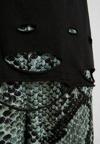 NGHTBRD - PLAYER TEE - T-shirt print - vintage black - 5