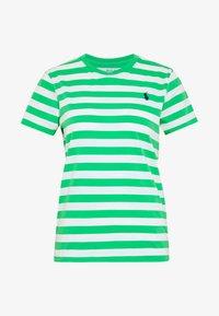 tiller green/white