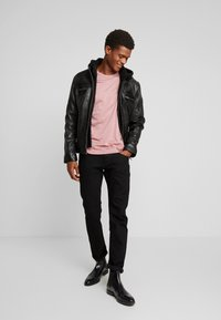Oakwood - DRINK - Leather jacket - black - 1