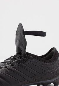 adidas Performance - COPA GLORO 20.2 FG - Kopačky lisovky - core black/dough solid grey - 5