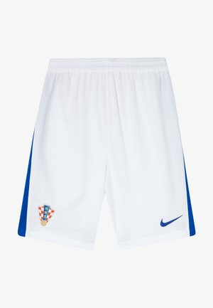 KROATIEN CRO Y NK BRT STAD HA - Sports shorts - white/bright blue