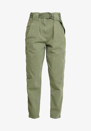 NATALIE UTILITY - Spodnie materiałowe - khaki