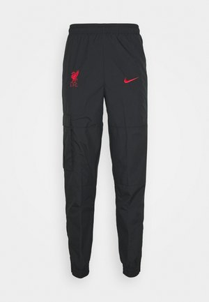 FC LIVERPOOL PANT - Pantalon de survêtement - black/hyper turquoise/university red