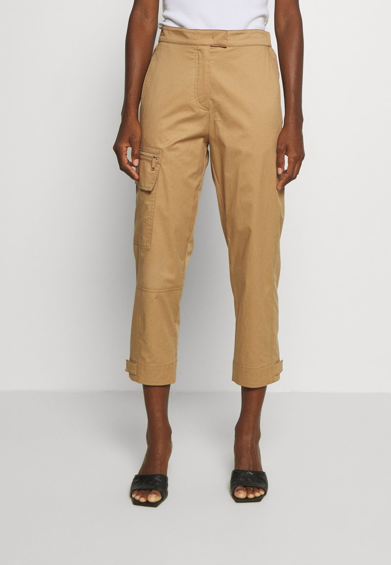 Marc O'Polo PURE - Cargo trousers - beige