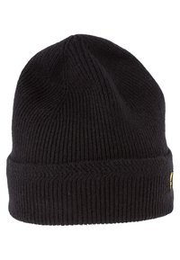 Lyle & Scott - RACKED BEANIE - Beanie - true black - 2