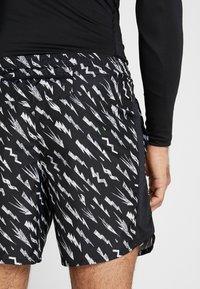 Nike Performance - SHORT  - Pantalón corto de deporte - black/silver - 3